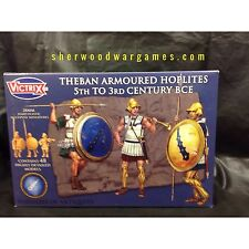 28mm Armoured Theban Infantry By Victrix, Hail Caesar, Swordpoint Ancients