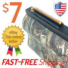 Blaze Orange Fiber Optic Universal Shotgun Sight Bead MADE IN USA!!!