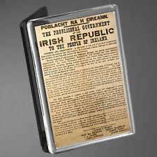 IRISH REPUBLICAN 1916 ORIGINAL IRISH PROCLAMATION FRIDGE MAGNET & KEYRING