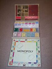 Vintage Parker Brothers Inc. 1964 Monopoly, Real Estate Trading Game