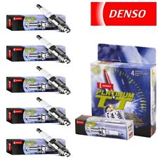 5 - Denso Platinum TT Spark Plugs 2004-2009 Chevrolet Colorado 3.5L 3.7L
