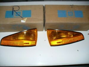1987 Pontiac Bonneville GM NOS Side Marker Lamp Pair LH + RH  5974800 5974799