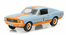 brand new 1967 Ford MUSTANG 2+2 Fastback Gulf Oil race car in orig pkg--mint 67