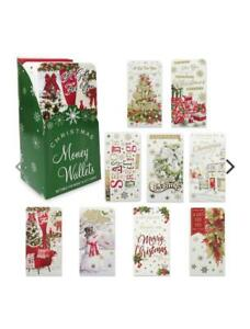 31 Different Luxury Money Gift Card Wallet Santa Kids Classic Xmas 2 For £1.39