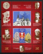 Estonia 2019 MNH Tallinn Cathedral School 2v M/S Education Architecture Stamps