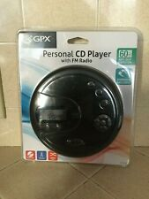 Gpx Personal Cd Player with Fm Radio (brand new)