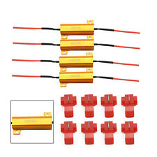 4x LED Indicator 50W 6Ω Flash Rate Relay Turn Signal Load Resistor Bulbs Ballast