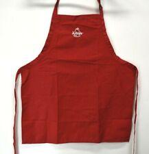 Arby's Restaurant Unisex Employee Uniform Apron Red Tie Waist New Fashion Seal
