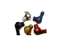 2 Black Ariete Bridgeport 90/83 degree 11.3mm angled valve stems Made in Italy