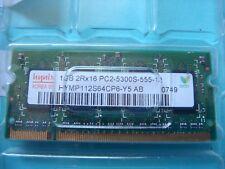 Hynix 1GB HYMP112S64CP6-Y5 AB DDR2 PC2-5300 Laptop Memory RAM 667MHz 12291-1