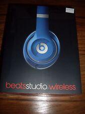 Beats By Dre Studio Wireless Headphones-Blue NEW