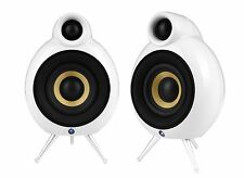 SCANDYNA Podspeakers Micropod SE Home Cinema Pair of 2 White Speakers