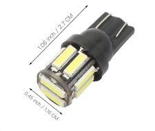 Coppia LAMPADINE auto T10 W5W 194 10 LED 7020 LUCE  BIANCA 2W tuttovetro