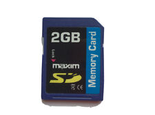 Maxim 2gb Sd Memory Card Tested and Formatted