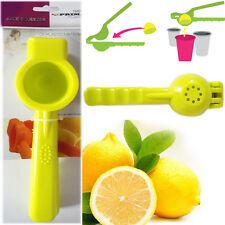 Lemon Squeezer Kitchen Citrus Lime Press Juicer Solid Plastic Extractor Handheld