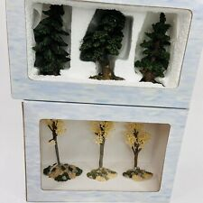 Lot of 2 Boxes Boyds Town Arboretum Collection and Spring is Sprung Vtg NewTrees