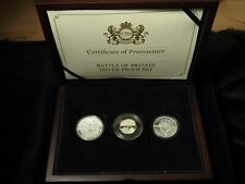 More details for coin portfolio management: battle of britain silver proof set 2015 (some toning)