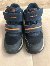 Geox Amphibiox Boots Boys Shoes Size 12 Or Eu 30 Blue Worn Twice