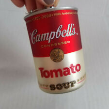 1999 CAMPBELL'S SOUP Tomato Soup Can Ornament - 3in - Red & White
