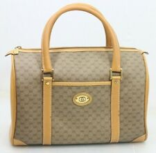 Vintage Gucci Doctors Hand Bag Purse GG Monogram 70s - Free Shipping