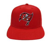 Tampa Bay Buccaneers Snapback Retro Vintage Logo Cap Hat Red
