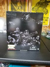Star wars Black series Clone Trooper 4-pack Entertainment Earth' Exclusive New