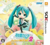USED Nintendo 3DS Hatsune Miku Project mirai 2 Normal Edition 10983 JAPAN IMPORT
