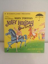 Vintage Walt Disney's Mary Poppins Jolly Holiday 45 RPM 1964