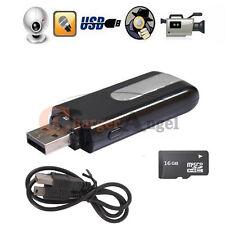16GB Hidden Mini USB Flash Drive Spy Cam Camera Nanny HD DVR Video Recorder U8