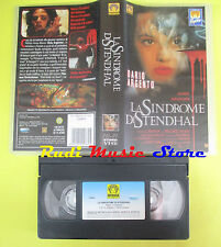 VHS film LA SINDROME DI STENDHAL dario asia argento PEPITE MEDUSA (F35**) no dvd