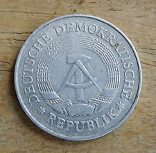 East Germany 1 Mark Coin~1977 (A) GDR~KM#35~Aluminium 2.4g~aEF~#585