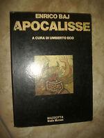 ENRICO BAJ - APOCALISSE A CURA DI UMBERTO ECO - ED:MAZZOTTA - ANNO:1979 (AR)