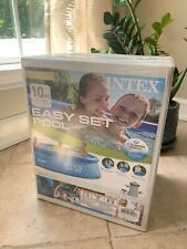 Intex 10ft x 30in Easy Set Above Ground Pool with Filter Pump *Ready To Ship*