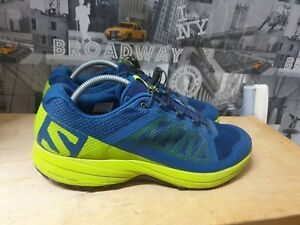 Salomon XA Elevate Men's Trail Running Green/Blue Trainers Size UK 11 EU 46.