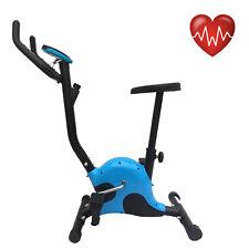 Cyclette belt cardio fitness allenamento bici da camera con computer blu