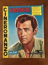 CINEROMANZO,1956 SCARAMOUCHE Stewart Granger, Janet Leigh Parker MEL FERRER