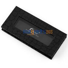 Black Crocodile Pattern Magnetic Freestyle Palette Eye hadow Makeup Tray Box