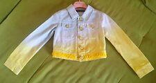Giacca di jeans con applicazioni by Miss Blumarine Taglia 4 anni