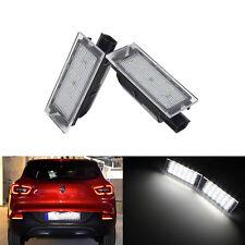 LED Kennzeichen Beleuchtung Lampe Für Renault Master Espace Twingo Twizy Canbus