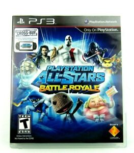 Playstation All-Stars Battle Royale (Sony Playstation,2012) PS3 - Complete