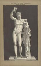 Hermes von Praxiteles Schaper Götterbote Dionysos Olymp Skulptur Brockhaus 0112