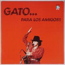 GATO BARBIERI: Para Los Amigos w/ BERNARD PURDIE Vinyl LP DOCTOR JAZZ NM- WLP