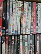 VARIOUS GENRE DVDS FROM 0 TO F