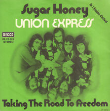 "UNION EXPRESS – Sugar Honey (1972 NEAR MINT VINYL SINGLE 7"" GERMANY)"