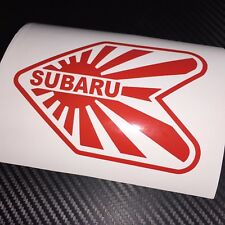 Red Subaru Wakaba Autocollant Voiture Autocollant Scooby JDM JAP IMPORT Drift Stance rally Wrx