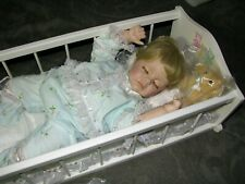 """Porcelain Doll Danbury Mint """"Sweet Dreams"""" from Baby's First Year Collection"""