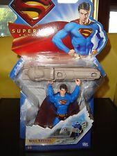 MATTEL DC COMICS SUPERMAN RETURNS mural Busting Figurine âges 4+ 2006 Nouveau