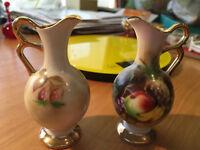 2 x Porcelain Miniature Large Size Jugs