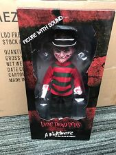 Mezco FREDDY KRUGER living dead dolls w/sound talking A NIGHTMARE ON ELM STREET
