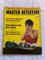 Vintage MASTER DETECTIVE Magazine January 1964 Dynamite Cover Lew Merrim INTACT